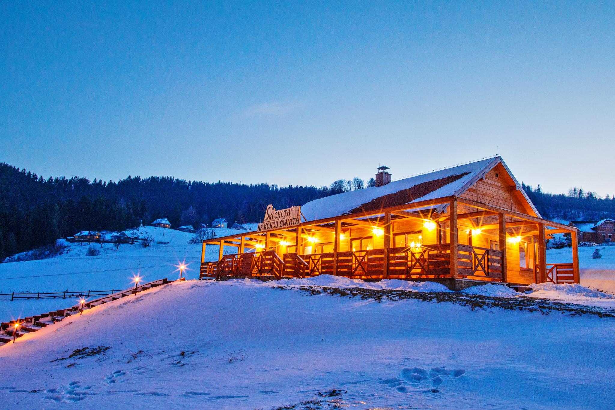 Sesja Reklamowa Marta Piskorek Ski Hotel